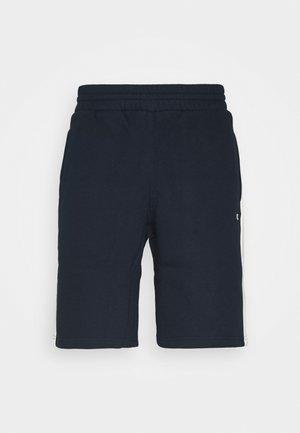 LEGACY CREAM&COLOR BERMUDA - Krótkie spodenki sportowe - dark blue/off-white