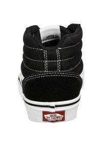 Vans - WARD HI - High-top trainers - black / white - 2