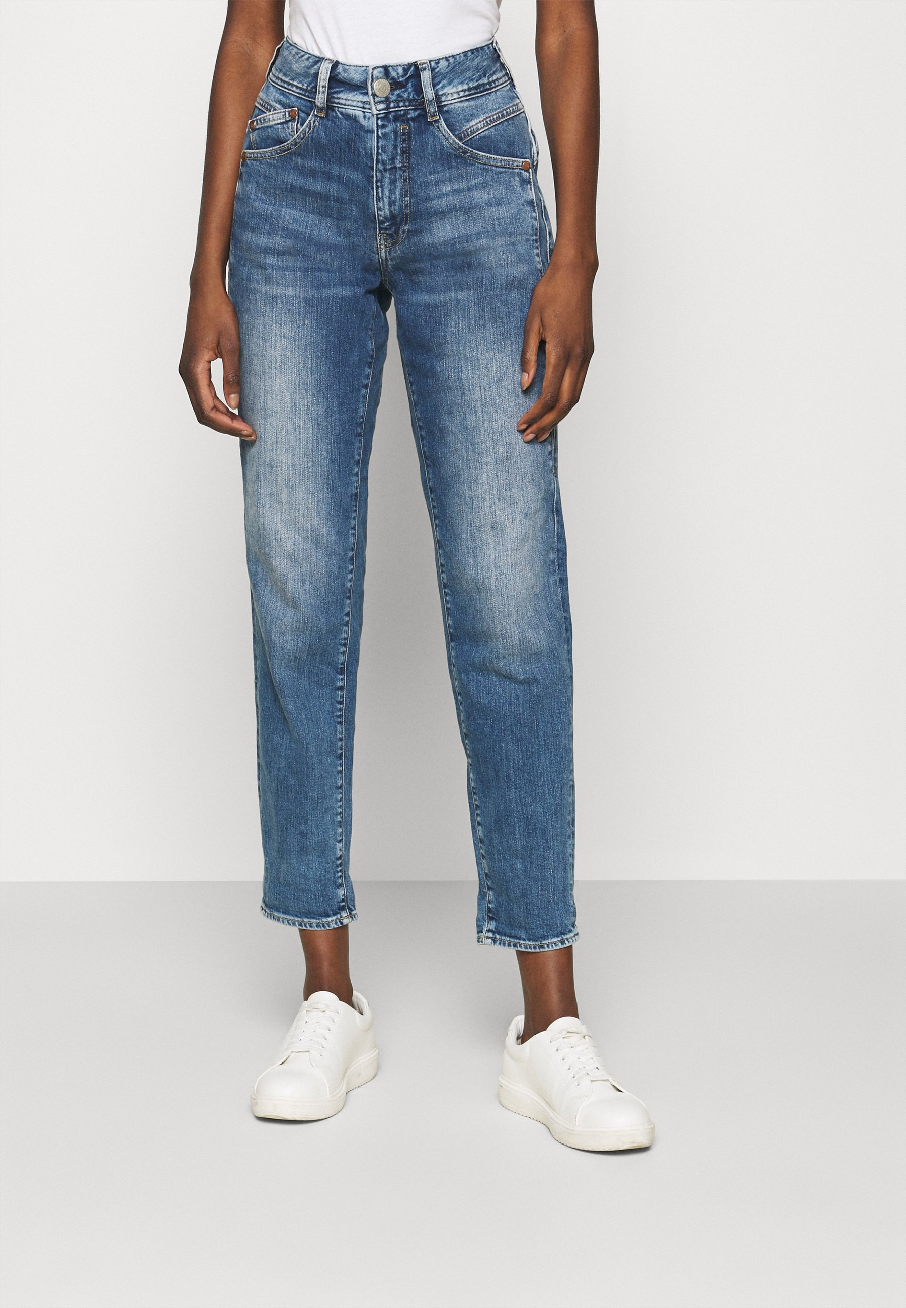 Women GILA CONIC RECYCLED - Straight leg jeans