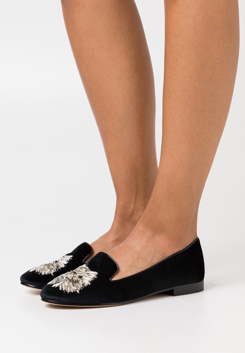kate spade new york - MEOW - Slip-ons - black