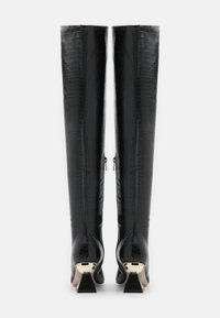 RAID Wide Fit - WIDE FIT SPIRAL - Over-the-knee boots - black - 3
