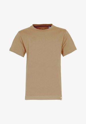 T-shirt - bas - caramel