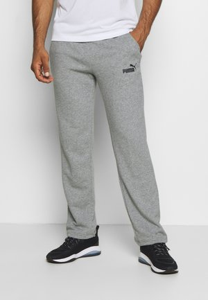 ESS LOGO PANTS  - Pantalones deportivos - medium gray heather