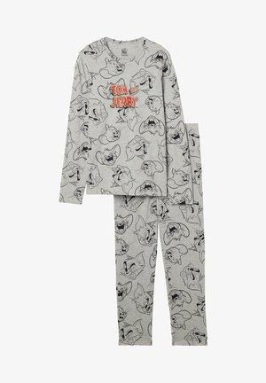 MIT TOM&JERRY - Pyjamas - grigio mel.chiaro st.tom&jerry outline
