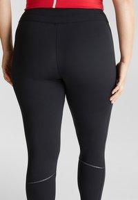 Esprit Sports - CURVY - Leggings - black - 4