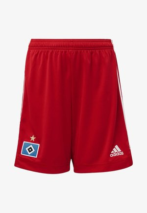 HAMBURGER SV 20/21 HOME SHORTS - Pantalón corto de deporte - red