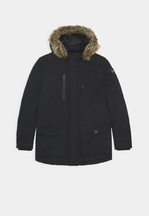 TAHA - Winter coat - deep black