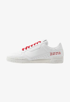 CONTINENTAL 80 UNISEX - Zapatillas - footwear white/scarlet