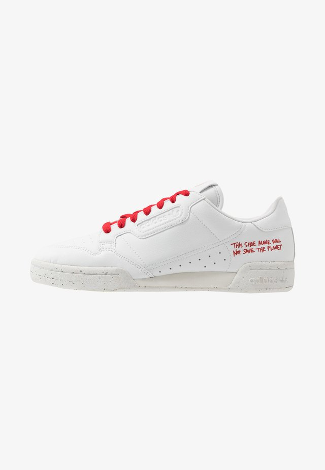 CONTINENTAL 80 UNISEX - Baskets basses - footwear white/scarlet
