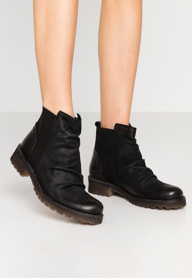 CASTER - Boots à talons - morat/belga black