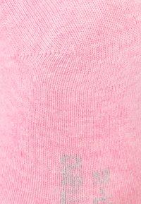 camano - SOFT 6 PACK - Ponožky - pink melange/fog melange/pink rose - 3