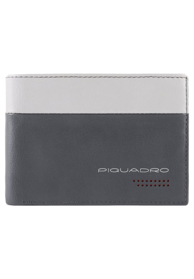 URBAN GELDBÖRSE RFID LEDER 13 CM - Wallet - grey-black