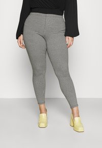 CAPSULE by Simply Be - SUPER SOFT  - Tygbyxor - black - 0