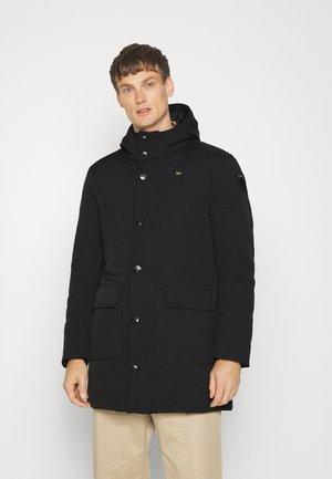 SOFT STRECH HOOD - Down coat - black