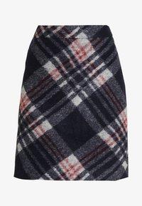 s.Oliver - KURZ - A-line skirt - navy - 3
