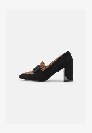 Classic heels - micro black