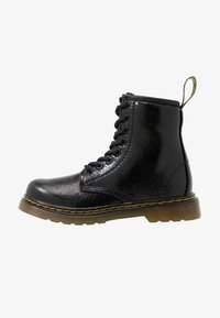 Dr. Martens - 1460 J  Crinkle Metallic - Lace-up ankle boots - black metallic - 1