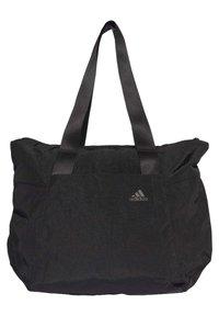 adidas Performance - TOTE BAG - Bandolera - black - 0