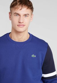 Lacoste Sport - SWEATER - Mikina - ocean/navy blue/white - 3