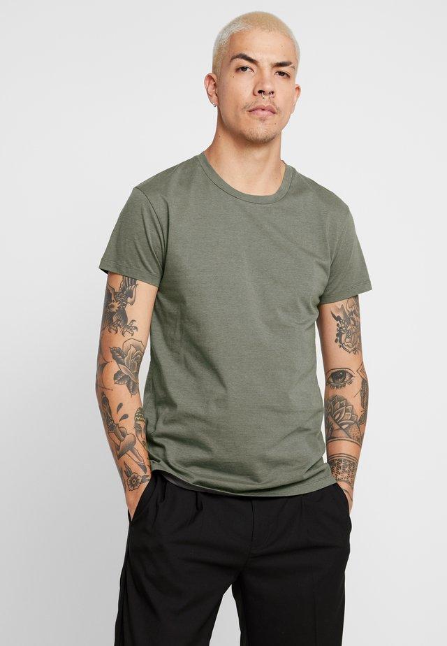 KRONOS STRIPE - T-shirt con stampa - quiet/deep