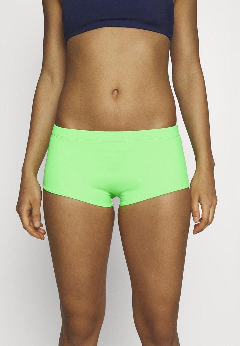 Hunkemöller - SUNSET DREAMS BOXER - Bikini pezzo sotto - green