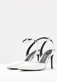 ONLY SHOES - ONLPEACHES  - High heels - white - 4