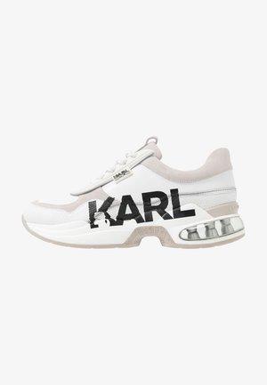 LAZARE LOGO  - Sneakersy niskie - white