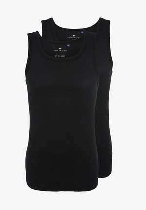 2 PACK - Unterhemd/-shirt - black