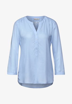 LTD QR BAMIKA SOLID - Blouse - blau