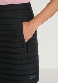 Jack Wolfskin - ICEGUARD SKIRT - Sports skirt - black - 5