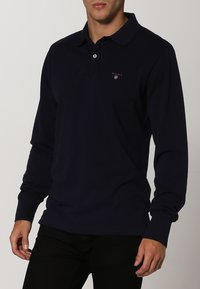 GANT - THE ORIGINAL RUGGER - Polo shirt - evening blue - 2