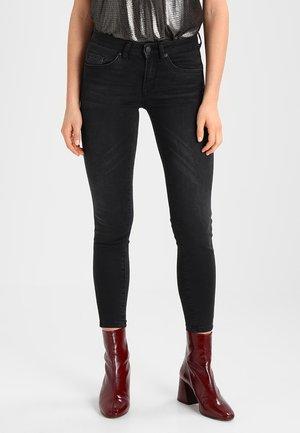 SFIDA CROPPED - Jeans Skinny Fit - black denim