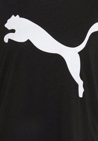 Puma - LOGO TEE - T-shirt imprimé - black - 5