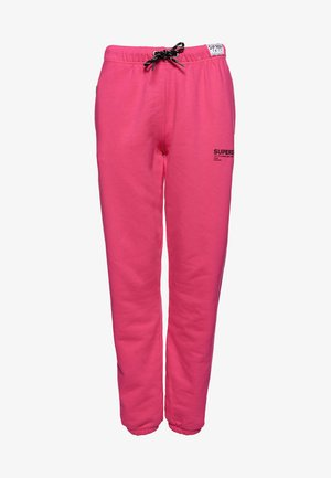 ELISSA-COLLEGEHOUSUT  - Tracksuit bottoms -  pink