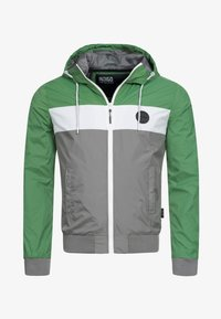 INDICODE JEANS - CHICKSAND - Outdoor jacket - green - 6