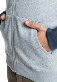 Quiksilver - EVERYDAY - Zip-up sweatshirt - light grey heather - 4