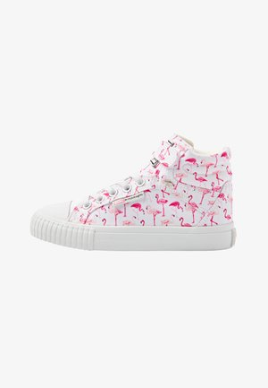 DEE - High-top trainers - white flamingo
