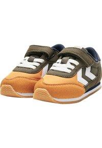 Hummel - REFLEX INFANT - Baskets basses - black olive - 2