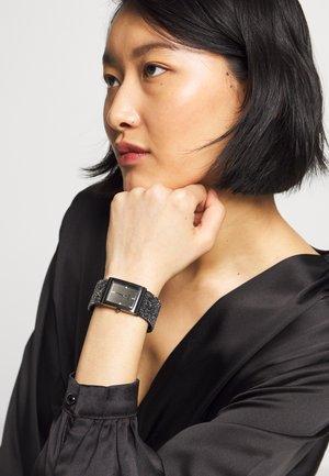WRISTWEAR BY SEKONDA LADIES FASHION WATCH - Watch - black
