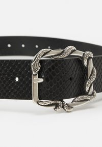 The Kooples - PYTHON AVEC SERPENT - Tailleriem - black - 3