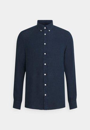 GARMENT DYE - Shirt - dark blue