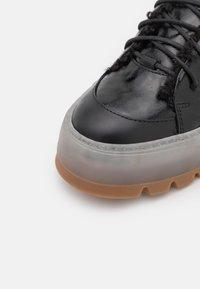 HUGO - JIN HIKING - Lace-up ankle boots - black - 6