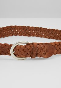 TOM TAILOR - Braided belt - cognac - 4