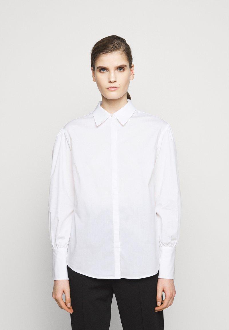 LIU JO - CAMICIA - Button-down blouse - bianco ottico
