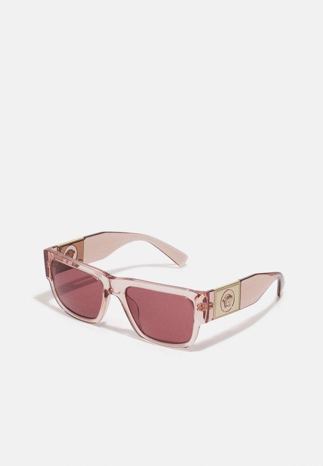 UNISEX - Sluneční brýle - transparent pink
