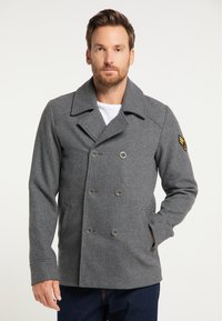 DreiMaster - Winter coat - grau melange