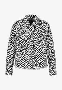 Samoon - Denim jacket - black gemustert - 3