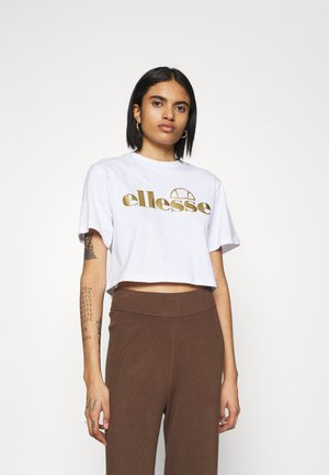 PRESEPE - Print T-shirt - white