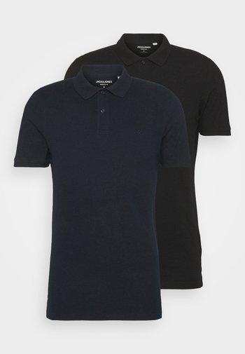 JJEBASIC 2 PACK  - Polo shirt - navy blazer