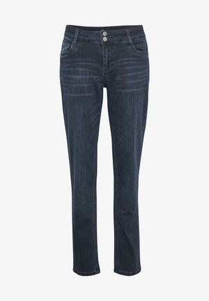 THE REGITZE  - Slim fit jeans - dark blue